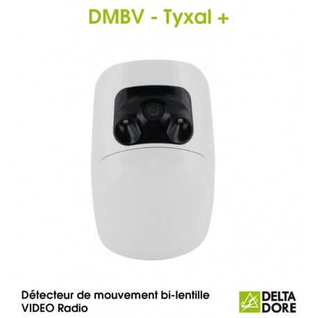 Détecteur de mouvement bi-lentille VIDEO Radio - DMBV TYXAL+ Delta Dore 6412287