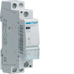 Contact sil 25A, 1F, 230V - AUTOMATISMES  HAGER ESC125S