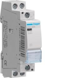 Contact 25A, 2F, 230V - AUTOMATISMES  HAGER ESC225
