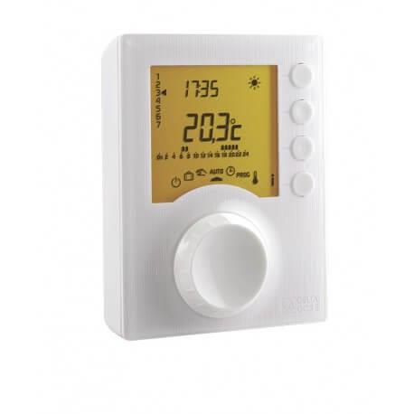 TYBOX 117 - Thermostat programmable avec 2 niveaux de consigne DELTADORE 6053005