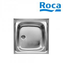 Évier de cuisine 1 bac en Inox à poser sur meuble - ROCA A870410603