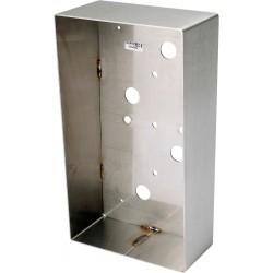 Boîtier inox saillie pour CIE3 BSI2 - Aiphone 120109