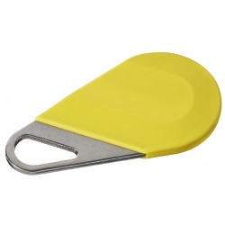 Badge type porte clé JAUNE HECV2J - Aiphone 150008