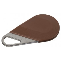 Badge type porte clé MARRON HECV2M - Aiphone 150012