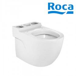 Cuvette de WC au sol MERIDIAN en porcelaine Ronde et Blanche - ROCA A342248000