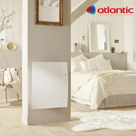 radiateur lectrique atlantic agilia horizontal 750w. Black Bedroom Furniture Sets. Home Design Ideas