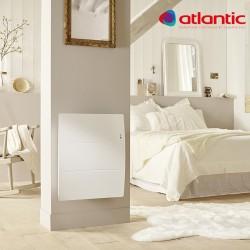 Radiateur électrique Atlantic AGILIA Horizontal 1000W Pilotage Intelligent Connecté - 503110