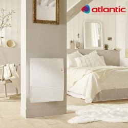 Radiateur électrique Atlantic AGILIA Horizontal 2000W Pilotage Intelligent Connecté - 503120