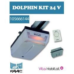 Kit Dolphin D600 - FAAC pour Porte de Garage -  24 V 105665