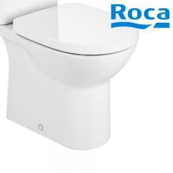 Cuvette de WC sur pied Blanche duale Rimless DEBBA - ROCA A34299P000