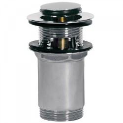 Bonde de lavabo avec trop‑plein  Ø37mm CLICK‑CLACK - TRES 13454110