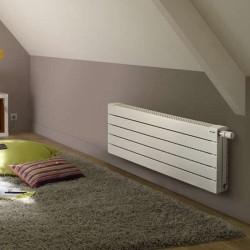 Radiateur chauffage central ACOVA - FASSANE Pack VLXD horizontal double à ailettes  950W VLXD-037-080