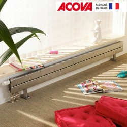 Radiateur chauffage central ACOVA - FASSANE Pack plinthe  575W CVXD-022-140
