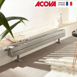 Radiateur chauffage central ACOVA - FASSANE Pack CLXD plinthe  935W CLXD-014-140
