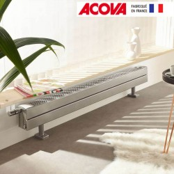 Radiateur chauffage central ACOVA - FASSANE Pack CLXD plinthe  1040W CLXD-029-100