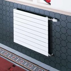 Radiateur eau chaude ACOVA FASSANE Horizontal Simple à ailettes