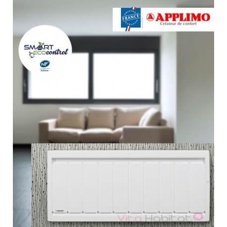 Radiateur electrique Fonte APPLIMO - SOLEIDOU Smart ECOcontrol 750W Bas 0013772SE