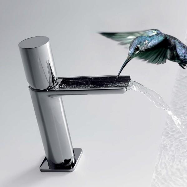 Mitigeur lavabo robinet cascade bec ouvert - TRES 20011002