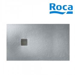 Receveur Terran 1600X800 A/Vid Gris Ciment - ROCA AP10164032001300