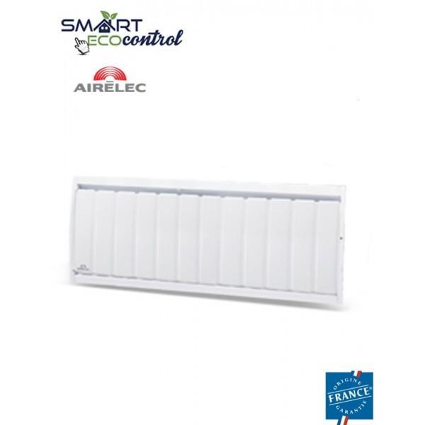 Radiateur electrique fonte airelec airedou smart ecocontrol 750w bas a69275 - Radiateur electrique 750w ...