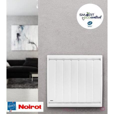 Radiateur electrique Fonte NOIROT - CALIDOU Smart ECOcontrol 1000W Horizontal N3013SEEZ