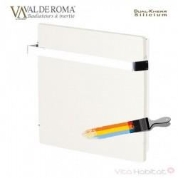 Sèche-serviette à inertie Wifi Blanc Liberty 1000W Carré - Valderoma BL10BSW