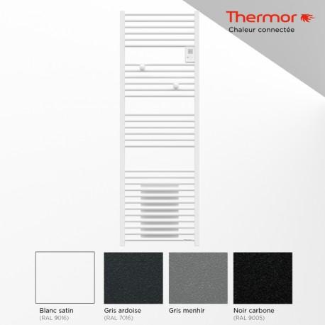 Sèche-serviettes électrique 1500W (500W+1000W) RIVA 4 soufflant - THERMOR