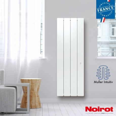 Radiateur Fonte NOIROT - BELLAGIO Smart ECOControl 1500W Vertical Blanc N1695SEFS Radiateur Fonte NOIROT - BELLAGIO Smart ECOCon