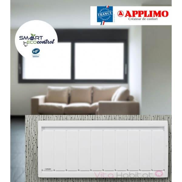 Radiateur fonte applimo soleidou smart ecocontrol bas radiateur electrique - Radiateur electrique hauteur 40 cm ...