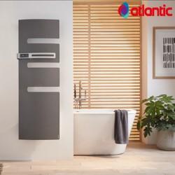 Sèche-serviettes électrique ATLANTIC 500W Mât à gauche SERENIS