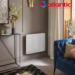 Radiateur électrique Atlantic DIVALI Premium Horizontal Blanc - 1900W Lumineux - 507638