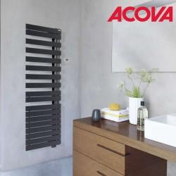 Sèche-serviette ACOVA -  Fassane Spa Twist asymétrique à droite electrique 500W - TFRT050-055/GF