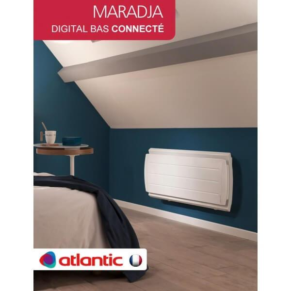 Radiateur Fonte Atlantic MARADJA Digital Bas Connecté 1000W 500910 ...