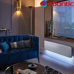 Radiateur électrique Atlantic DIVALI Premium Plinthe Lumineux