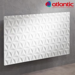 Radiateur Atlantic IRISIUM MOZAÏC 1500W Horizontal Connecté et Intelligent - 604115