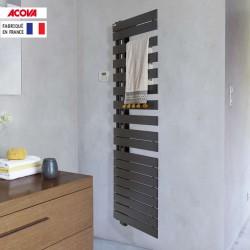 Sèche-serviette ACOVA -  Fassane Spa Twist asymétrique à gauche electrique 500W - TFLT050-055/GF