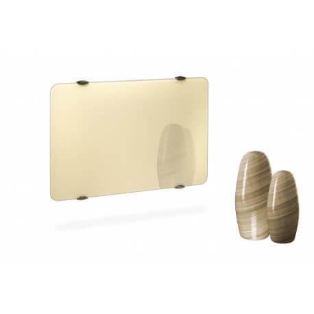 Radiateur électrique CAMPA CAMPAVER Ultime 3.0 Horizontal Laque d'ivoire 1000W CMUD10HBEIG