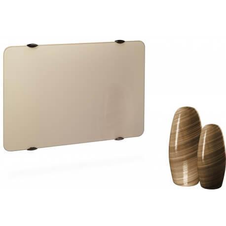 Radiateur électrique CAMPA CAMPAVER Ultime 3.0 Horizontal Sable Doré 1500W CMUD15HSABL