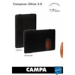 Radiateur électrique CAMPA CAMPAVER Ultime 3.0 Vertical Noir Astrakan 1250W CMUD13VSEPB
