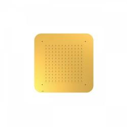Douche acier inoxydable de tête anticalcaire 420x420mm.  - TRES 29951607OR Douche acier inoxydable de tête anticalcaire 420x420
