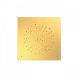 Douche acier inoxydable de tête anticalcaire 500x500mm.  - TRES 29995302OM Douche acier inoxydable de tête anticalcaire 500x500