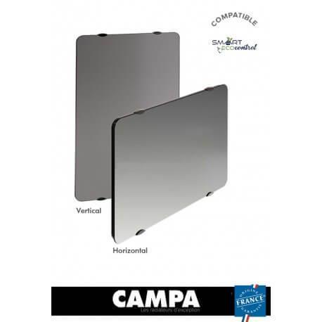 Radiateur électrique CAMPA CAMPAVER Ultime 3.0 Vertical Reflet 1500W CMUD15VMIRE