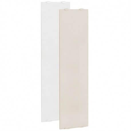 Radiateur électrique CAMPA NATURAY Select 3.0 Etroit Vertical Blanc de lave 1600W NESD16VBCL