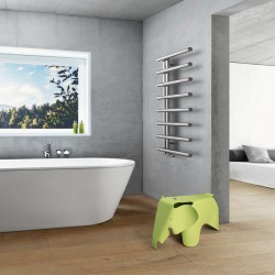 Sèche-serviette eau chaude CHIME 377W - CHI-140-050 ACOVA