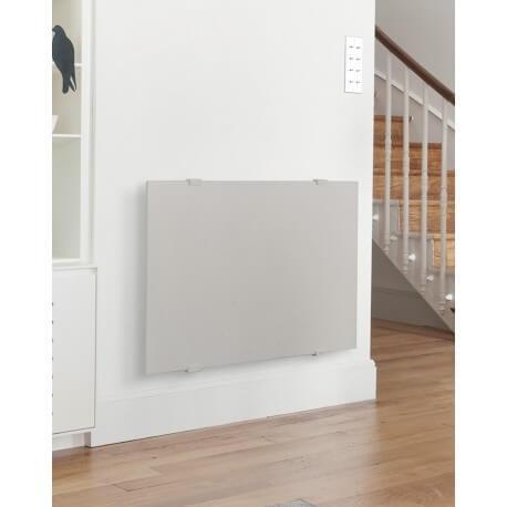 Radiateur électrique CAMPA NATURAY Select 3.0 Horizontal Grège 1000W NASD10HGREI