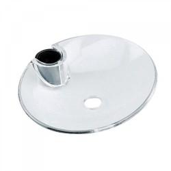 Porte‑savon méthacrylate pour barre coulissante Ø18,Ø20,Ø25mm.  - TRES 913473501 Porte‑savon méthacrylate pour barre couli