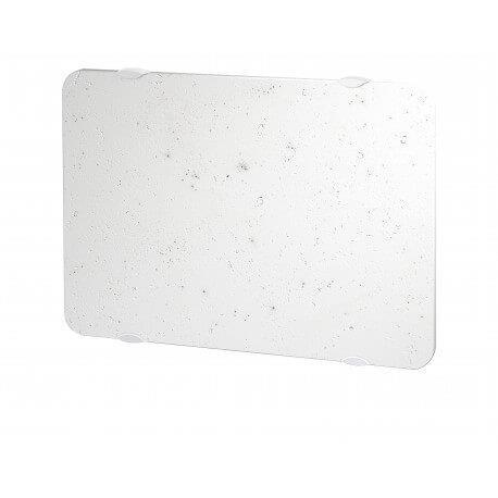 Radiateur électrique CAMPA NATURAY Ultime 3.0 Horizontal Blanc de lave 1000W NATD10HBCL