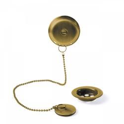Ensemble d'accesoires pour baignoireØ70mm Chaînette de 42cm.  - TRES 03474501OM Ensemble d'accesoires pour baignoireØ70mm