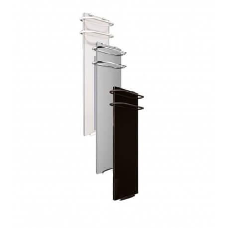 Sèche-serviettes électrique soufflant CAMPA Campaver-bains Select 3.0 Noir Astrakan 1200W CVVS12SEPB