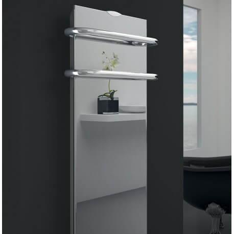 Sèche-serviettes électrique soufflant CAMPA Campaver-bains Select 3.0 Reflet 1000W CVVS10MIRE